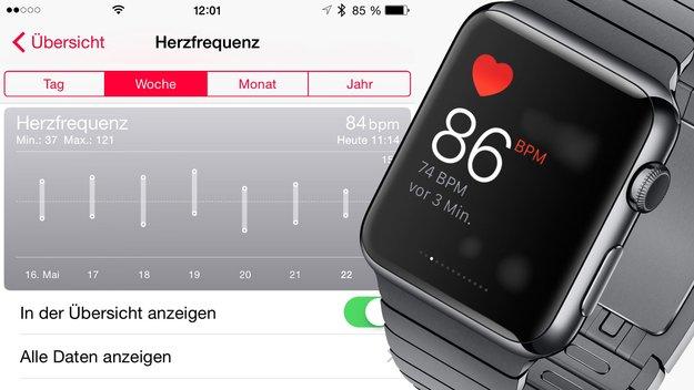 Apple Watch: Probleme mit Pulsmessung seit Watch OS 1.0.1