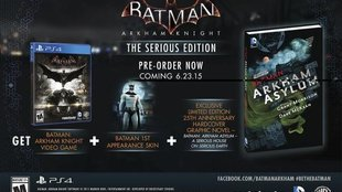 "Batman Arkham Knight: Weitere Special Edition namens ""Serious Edition"" angekündigt"