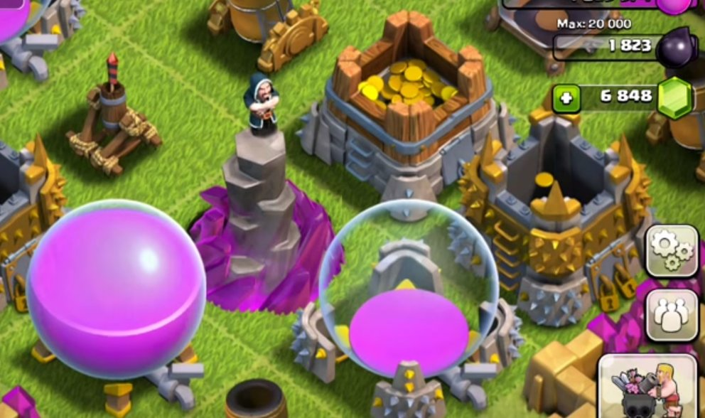 Clash of Clans Magierturm