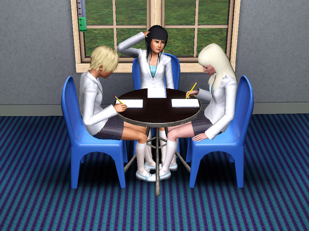 Do u copy homework sims 3