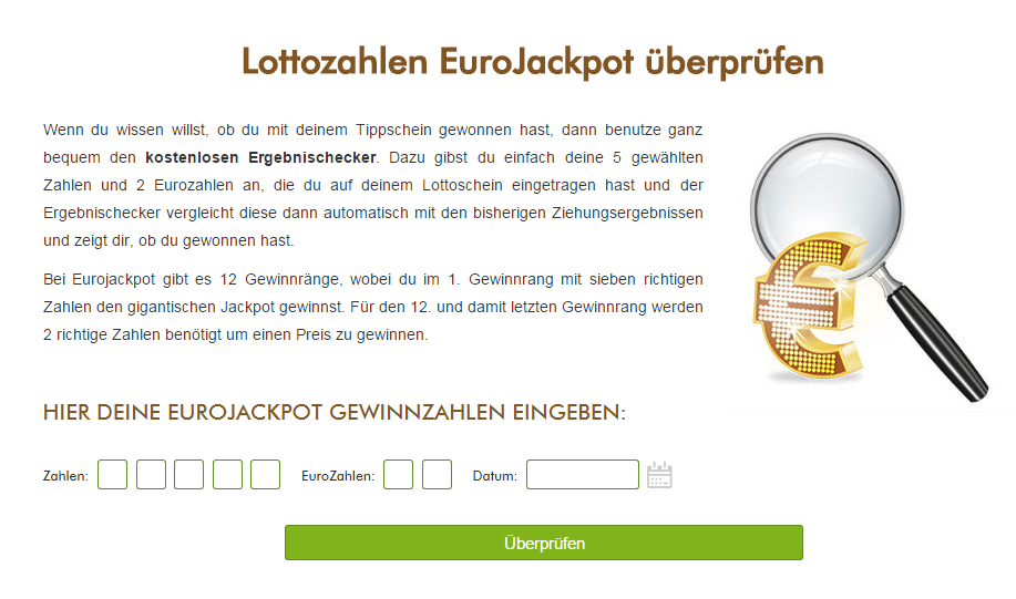 eurojackpot gewinnschein abfrage