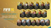 FIFA 16: Team der Woche 8 - neue In-Forms am 4. November