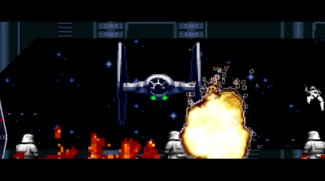 Krieg der Pixel: Star Wars The Force Awakens im 16-Bit-Look