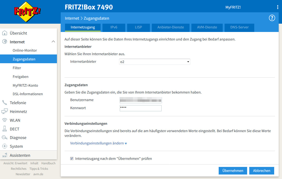 Fritzbox Kein Internet