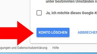 Google-Konto löschen (inkl. Google Plus) – so geht's
