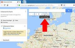 Google Maps: Route speichern...