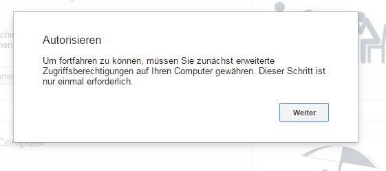 google-remot-desktop-addon-autorisieren