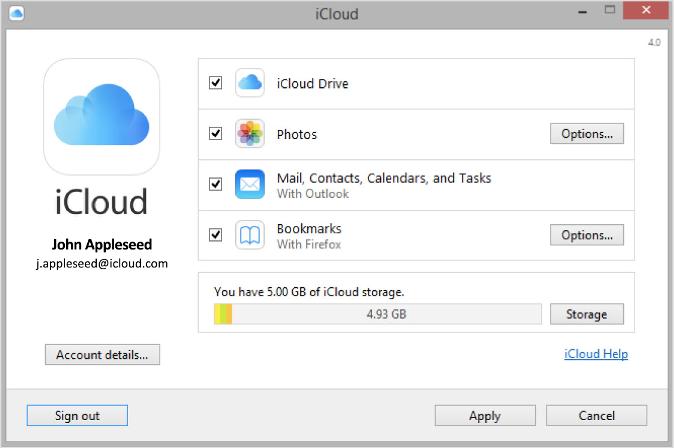 icloud fotos auf windows pc speichern