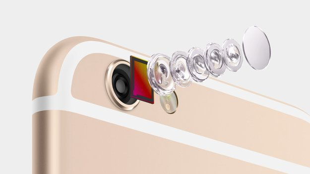 iPhone 6s: 12MP Sony Kamerasensor & RGBW Technologie