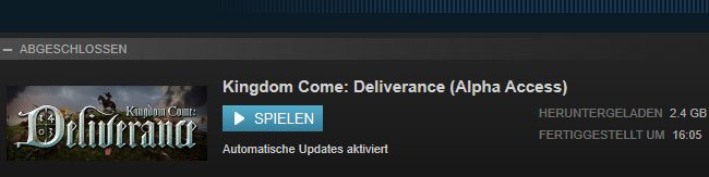 kingdom come deliverance steam