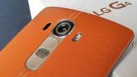 LG G4: 5,5-Zoll Flaggschiff mit brauner Lederrückseite im Unboxing