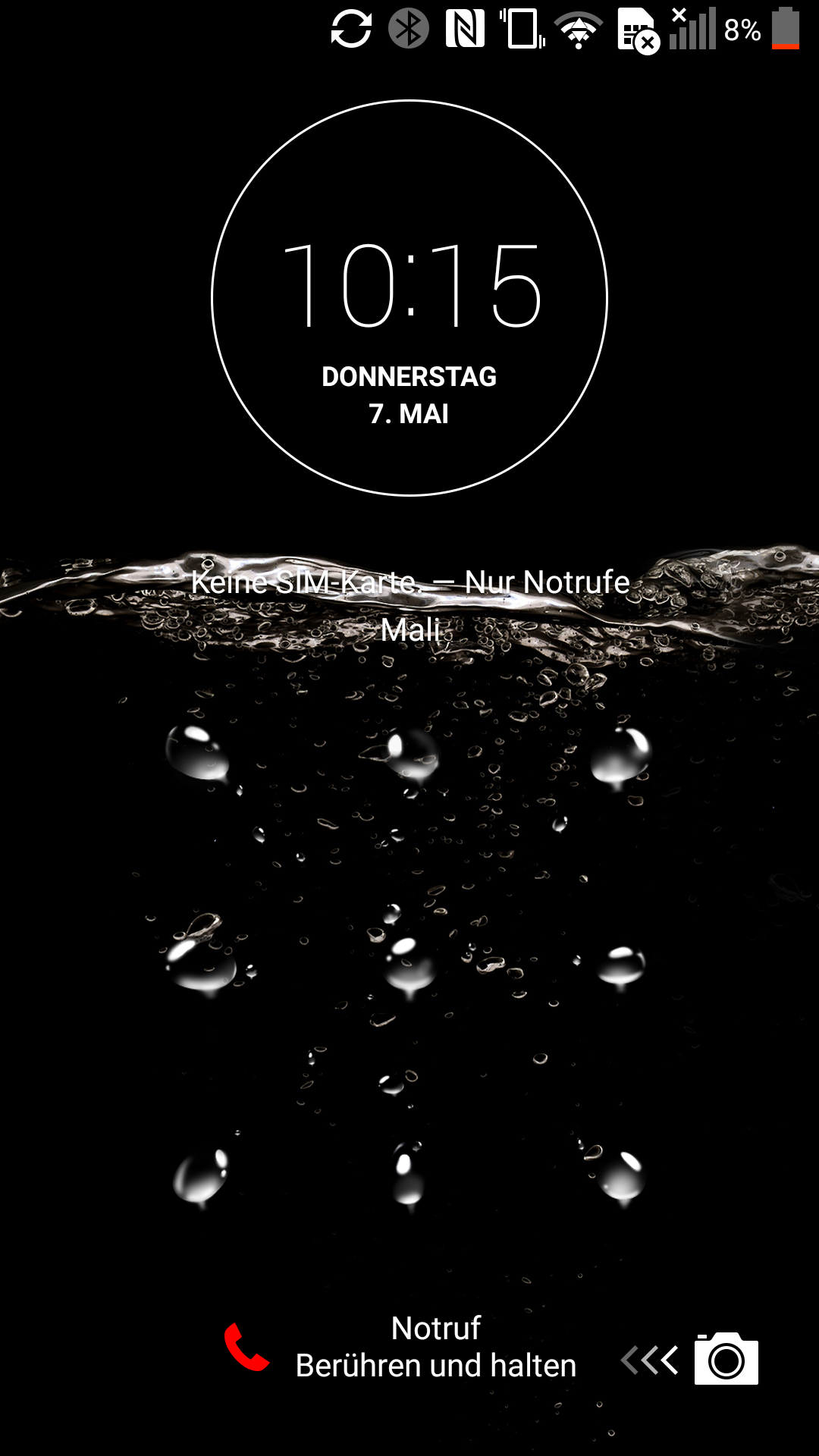 android muster vergessen