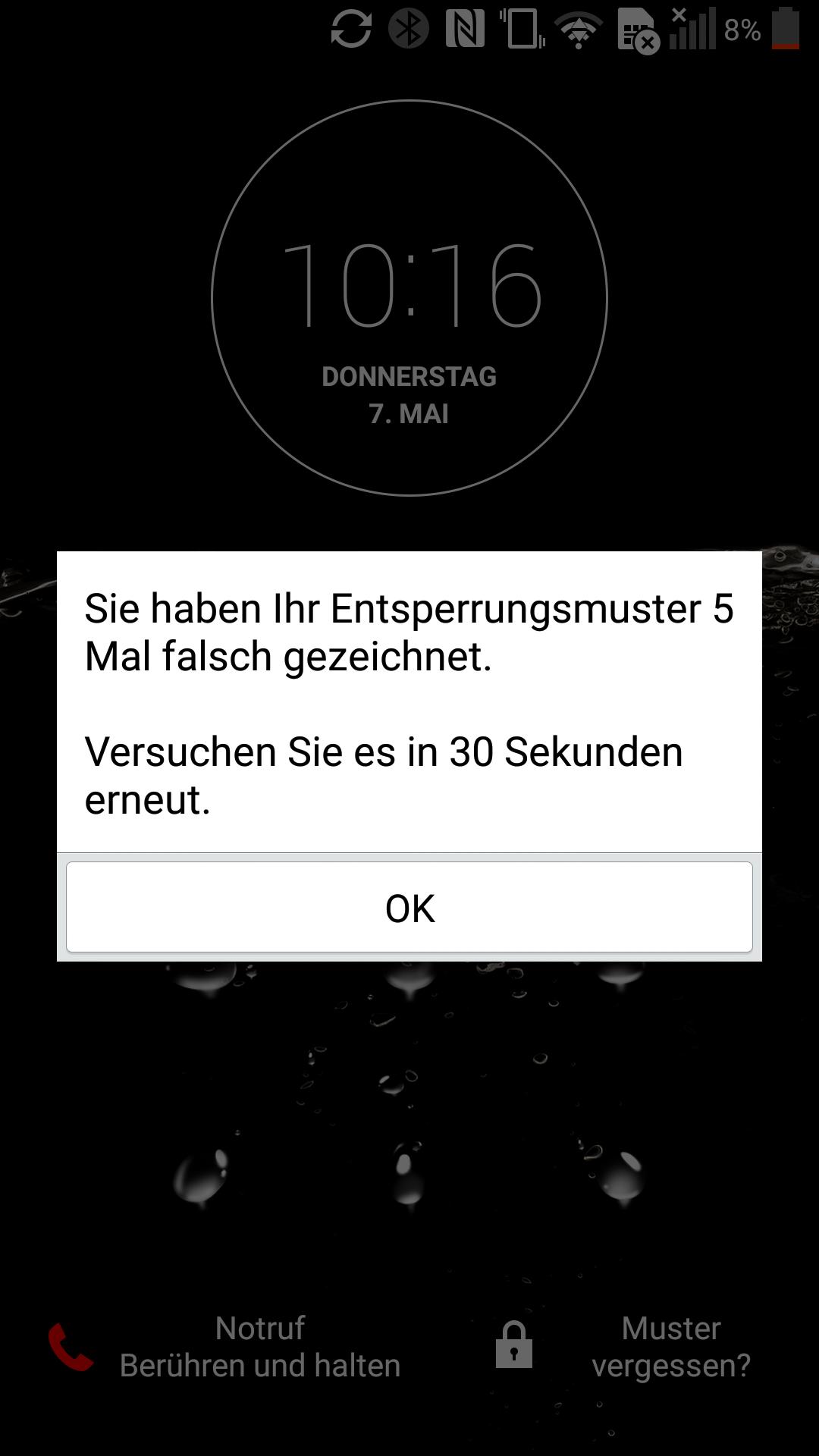 Die Handy-PIN zu vergessen, ist kein Weltuntergang