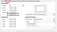 LibreOffice: Querformat einrichten (Alle & einzelne Seite) – so geht's
