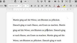 LibreOffice: Zeilenabstand einstellen – so geht's