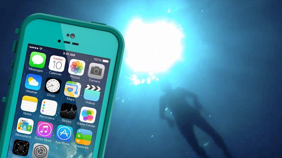 Video des Tages: Ein iPhone sinkt auf den Meeresgrund