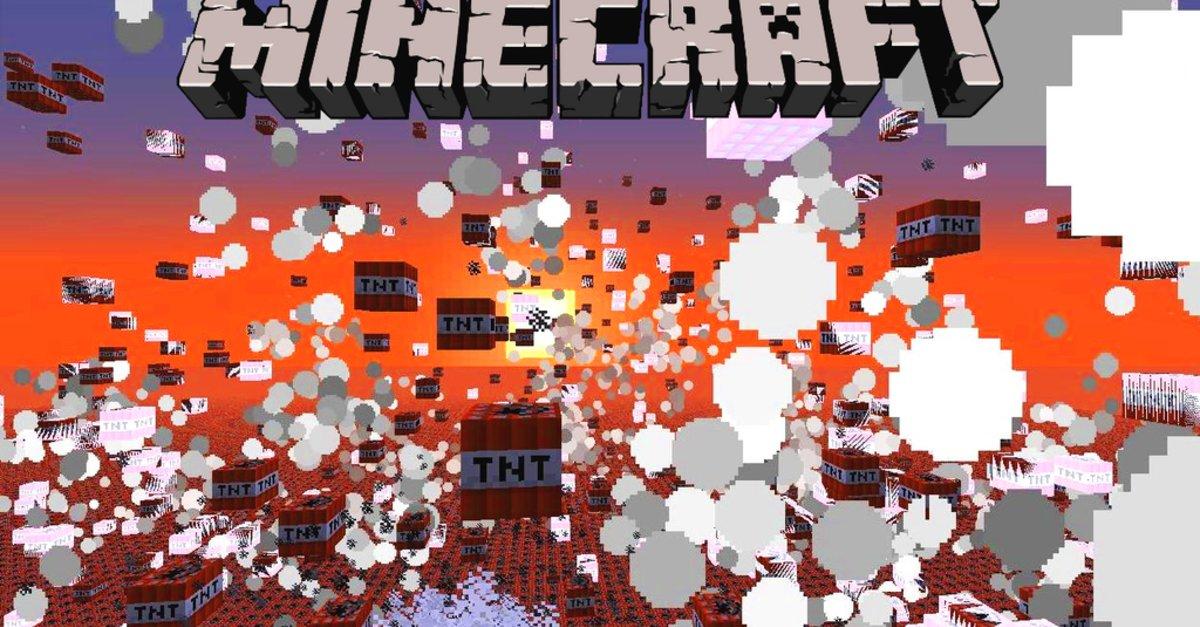 Minecraft TNT Bauen Und Fernzünden Alle Infos Zu Den Explosiven - Minecraft tnt spielen