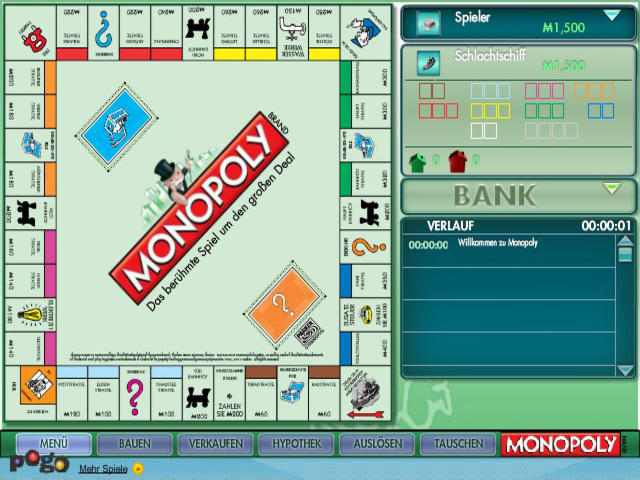 monopoly spiel kostenlos online auf rk spielen. Black Bedroom Furniture Sets. Home Design Ideas