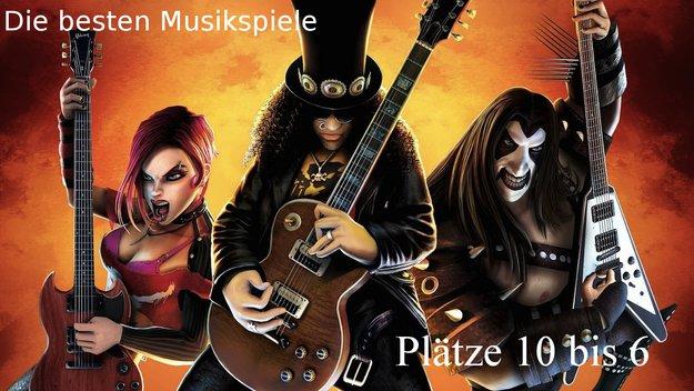 Die 10 besten Musikspiele: Plätze 10 bis 6
