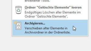 Outlook: Archivieren von E-Mails (Manuell / Automatisch) – so geht's