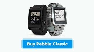 Alternative zur Apple Watch: Klassiker Pebble und Pebble Steel gegenwärtig im Preis gesenkt
