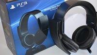 PS3 Headset einrichten: So geht's mit USB und Bluetooth