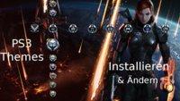 PS3 Themes: Designs herunterladen, installieren und ändern