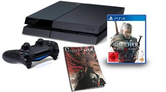 Game-Deals des Tages:<b> PS4 + The Witcher 3 + Comic für 399 Euro </b></b>