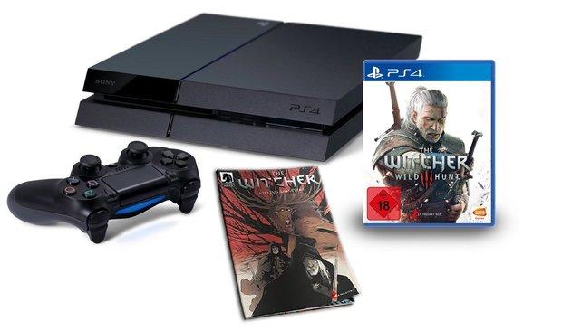 Game-Deals des Tages: PS4 + The Witcher 3 + Comic für 399 Euro