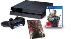 PlayStation 4: Bundle mit The Witcher 3 + Witcher Comic für 399 Euro