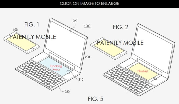 Samsung-Patent: Aus Android-Smartphone wird Windows-Notebook