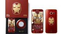 Samsung Galaxy S6 edge: Iron Man-Edition für 80.000 Euro verkauft
