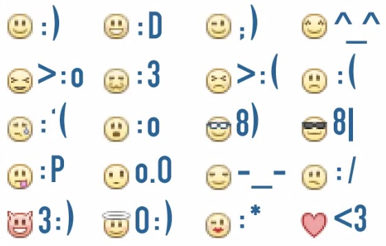 tastenkombination smileys