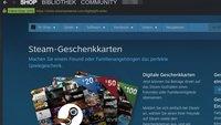 Steam: Guthaben und Spiele verschenken – so geht's