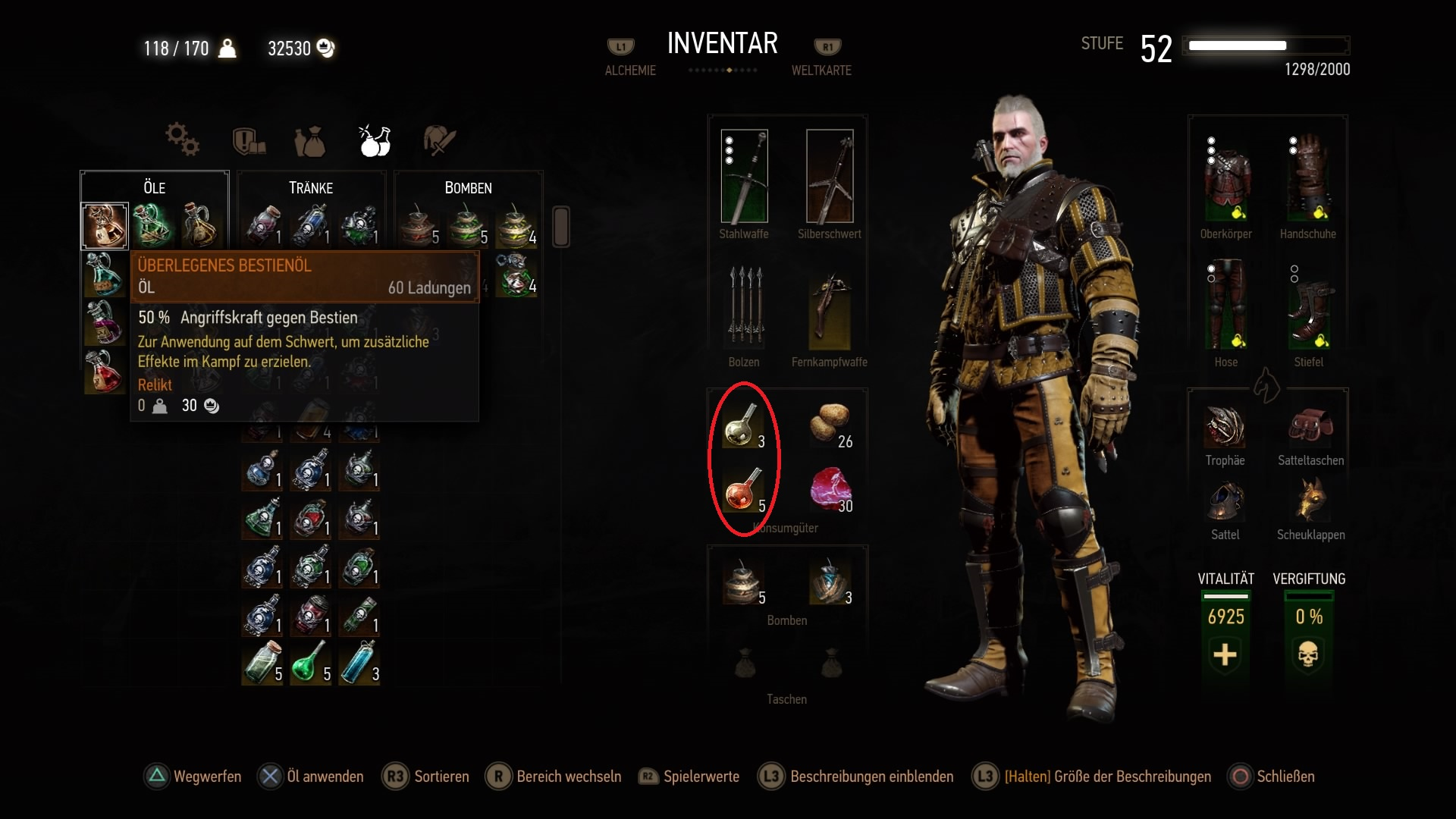 The Witcher 3: Alchemie-Rezepte, Fundorte und Zutaten für Tränke ...
