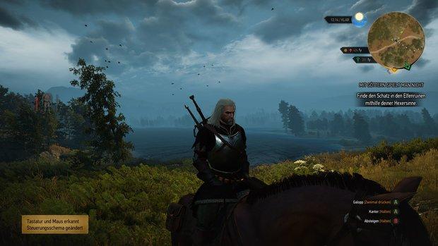 The Witcher 3: Gaming-PC für Mindestanforderungen zusammenstelllen