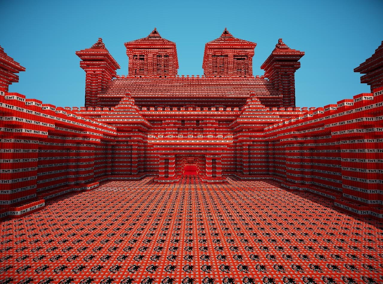 Minecraft TNT Bauen Und Fernzünden Alle Infos Zu Den Explosiven - Minecraft tnt spiele