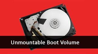 Unmountable Boot Volume – so löst ihr das Problem