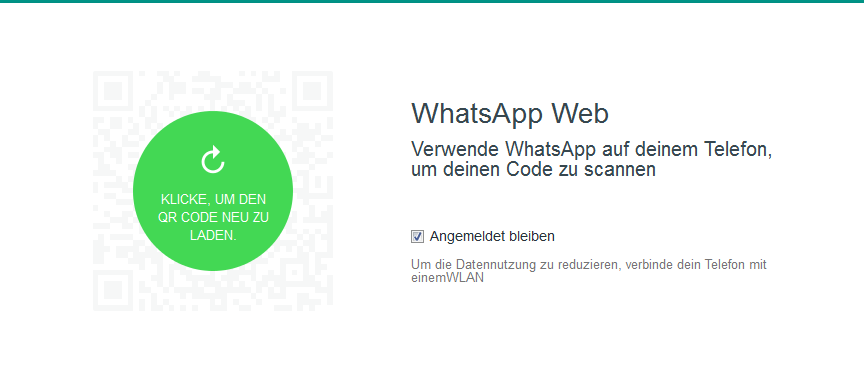 whatsapp web qr code scannen geht nicht das kann man tun. Black Bedroom Furniture Sets. Home Design Ideas
