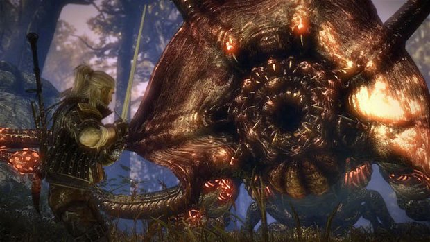 The Witcher 2 Walkthrough: Hexer-Auftrag - Kayran