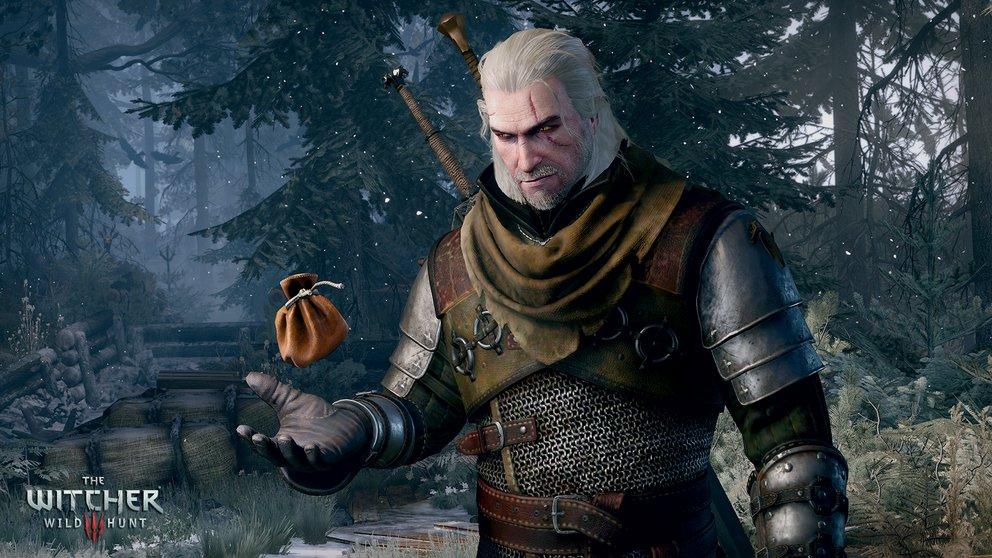 Geralt hat ein geschicktes Händchen als Kräuterkundler.