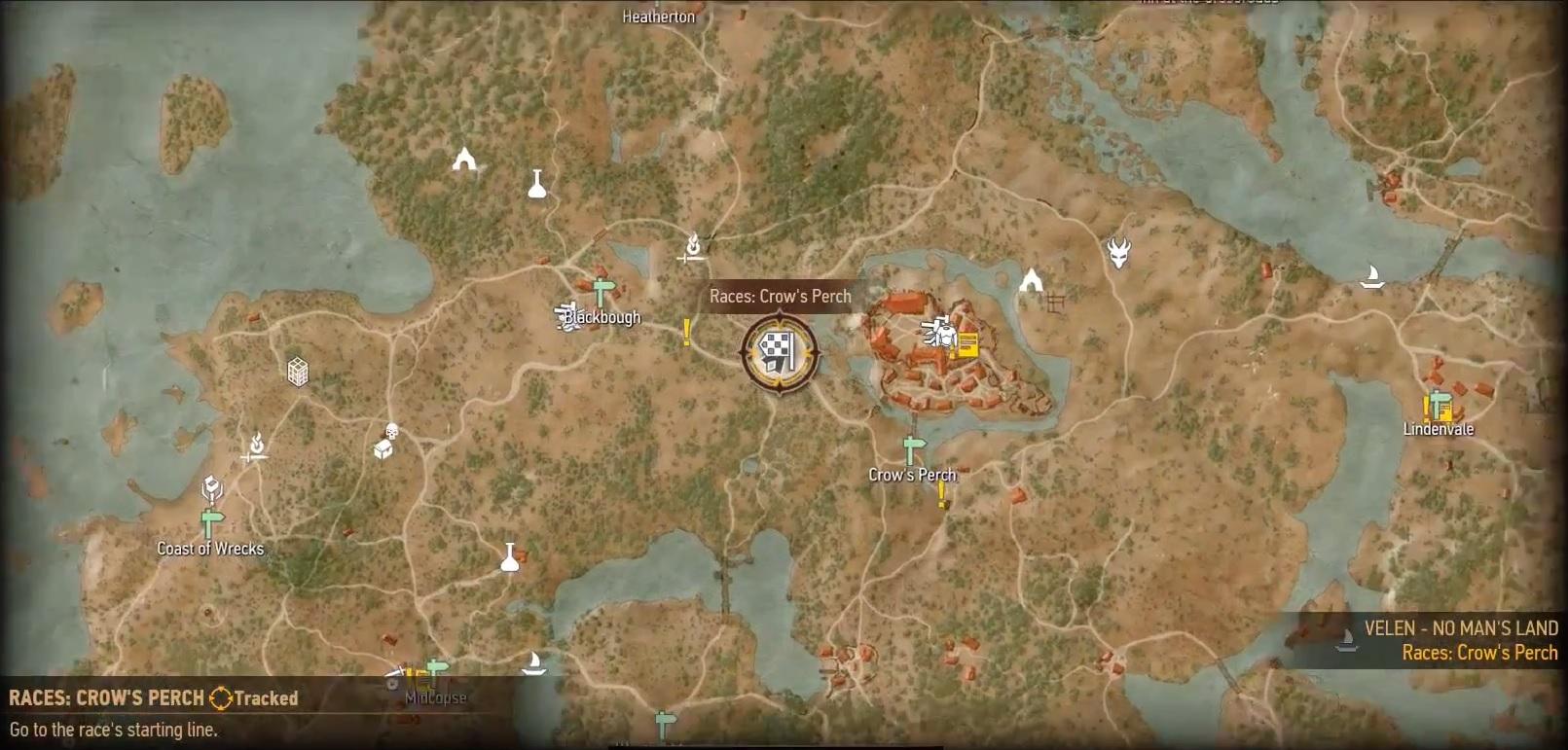 witcher 3 velen karte The Witcher 3: Alle Pferderennen – Fundorte und Belohnungen auf