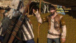 Wealthy Vendors Mod für The Witcher 3: Wild Hunt