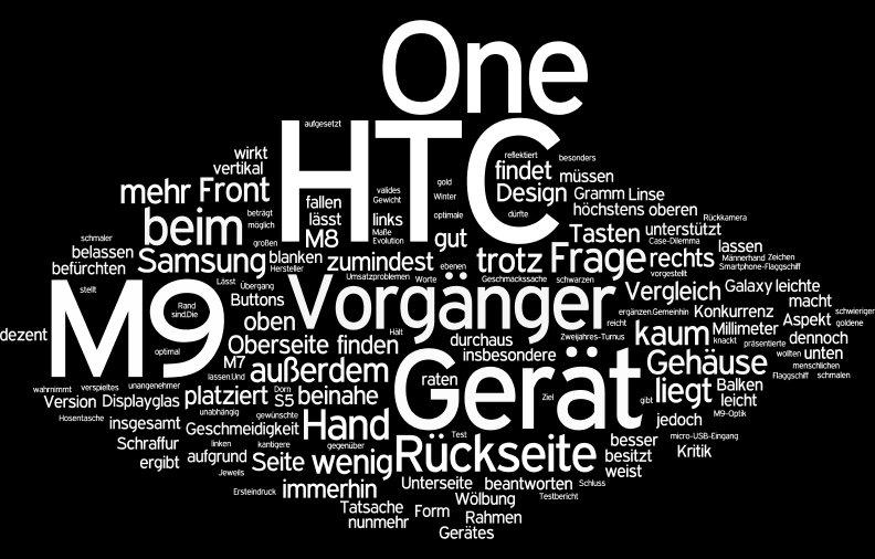 wordle htc one m9