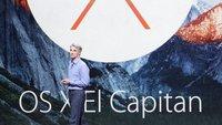 OS X 10.11 El Capitan: Das neue Mac-System in der Zusammenfassung