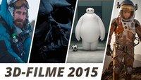 3D-Filme 2015: Im Kino und auf Blu-ray - Unsere Highlights