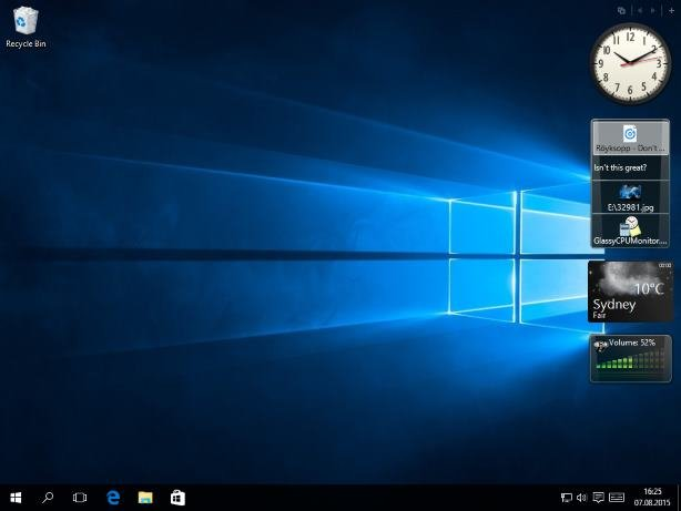 8gadgetpack windows 10