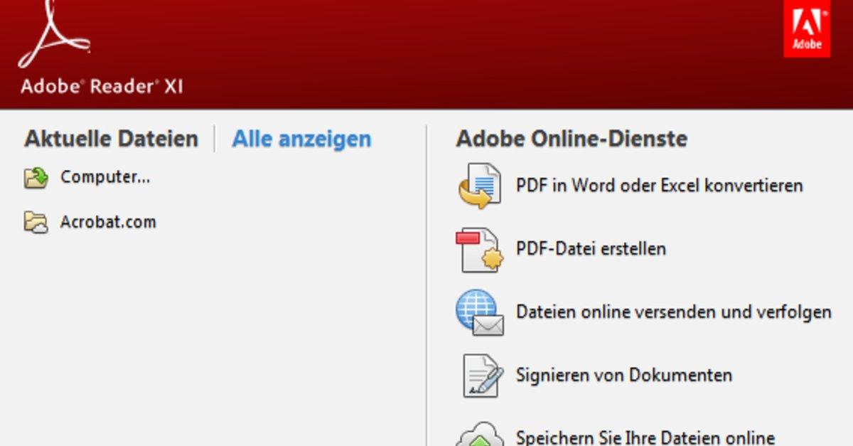 Adobe Pdf Reader Kostenlos Deutsch