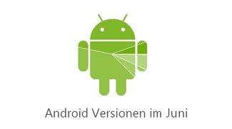 Android-Versionen im Juni: Lollipop knackt die 10-Prozent-Hürde
