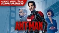 Gewinnt eine Reise zur Europapremiere von ANT-MAN (Update: Gewinner gezogen)
